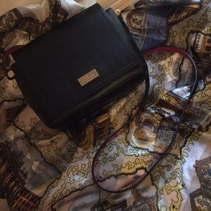 Kate spade exceptional size Black cross over